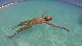 Nude Beach - Cuban Beauty