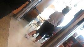 Asian Teen Candid Leggings