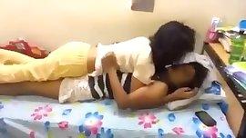 Lesbians humping
