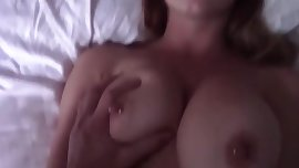 Amateur GF fucking with Big Boobs