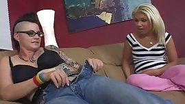 Mohawk MILF Seduces Preppie Teen Girl