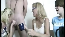 Milf Asks Teens To Milk This Cock For Some Cream