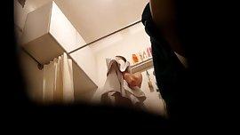 Part 2 hot teen shower hidden cam