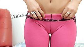 Big Cameltoe In Yoga Pants Latina Big Naturals Big Ass