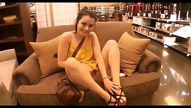 Daring girl on display at mall