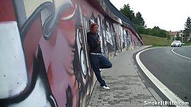 Street smoking