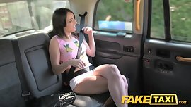 FakeTaxi Spanish teen with nice arse
