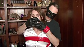 Chrissy tape gagged